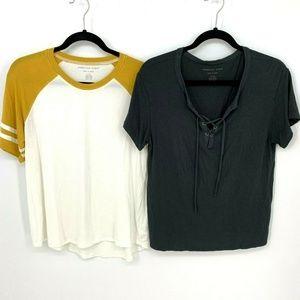 American Eagle Soft & Sexy T-shirt Bundle Lot